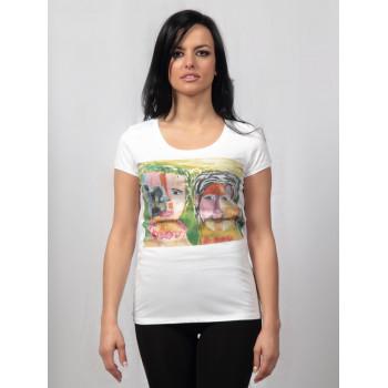 T-shirt Facce